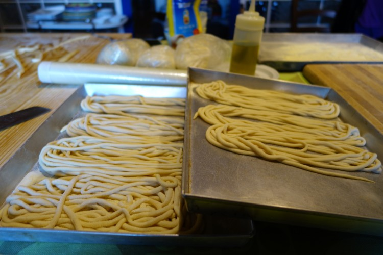 Homemade 'Pici' Pasta Recipe from Monticchiello