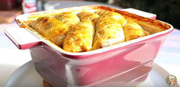 A cabbage rolls 1